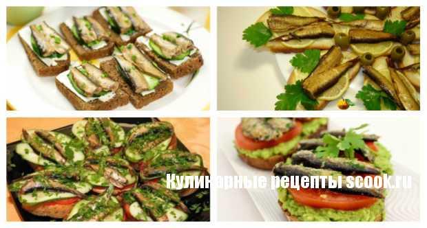рецепты несложных бутербродов