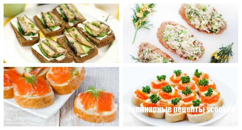 самые простые бутерброды рецепты с фото