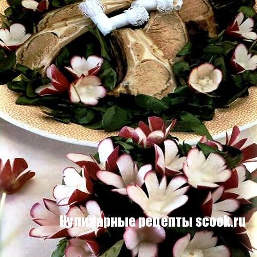 Тюльпаны из редиски