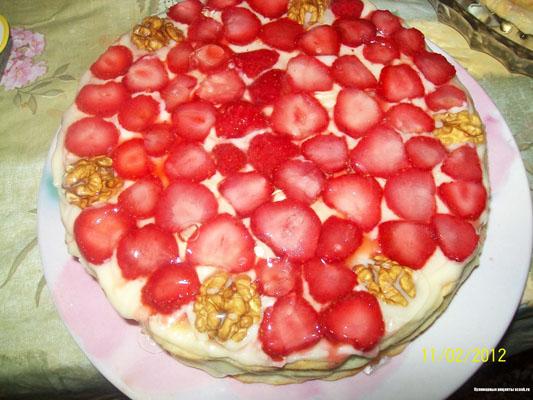 Сметанный тортик