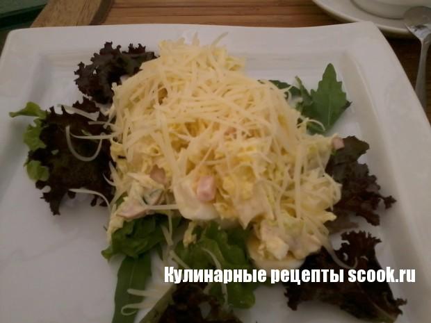 """Салат с курицей """"Нежный"""""""