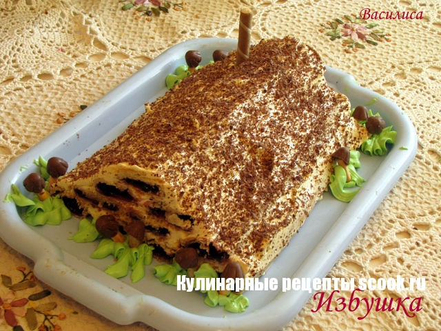Торт Монастырская Избушка