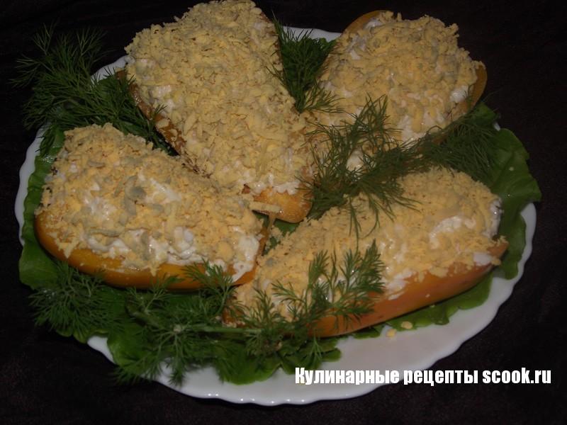 Сырная закуска в болгарском перце