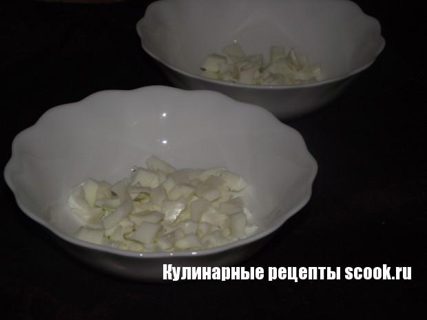 Салат из отварной говядины и фасоли