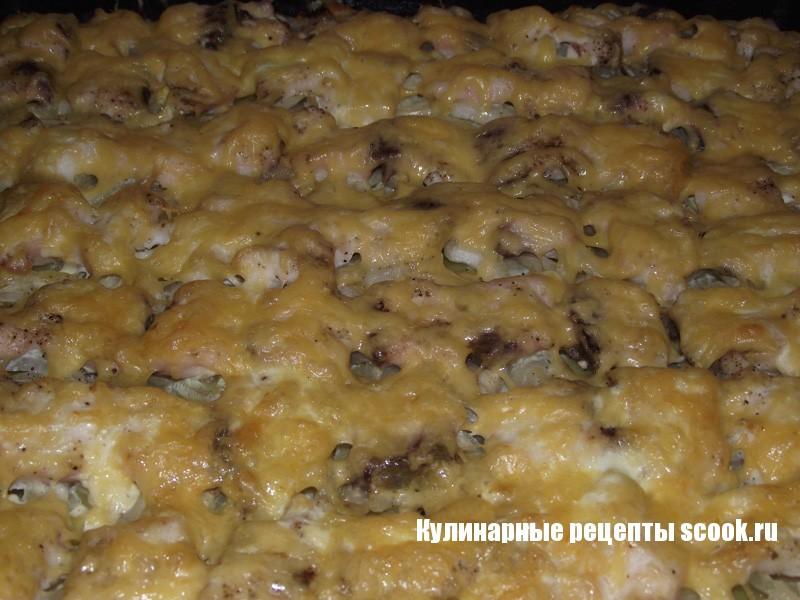 Пеленгас под сырной корочкой