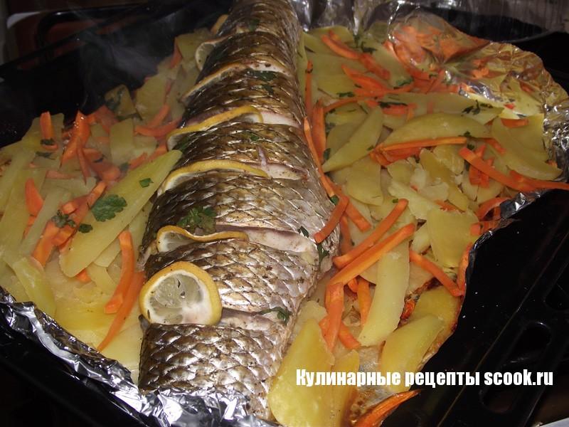 Пеленгас запеченый в духовке