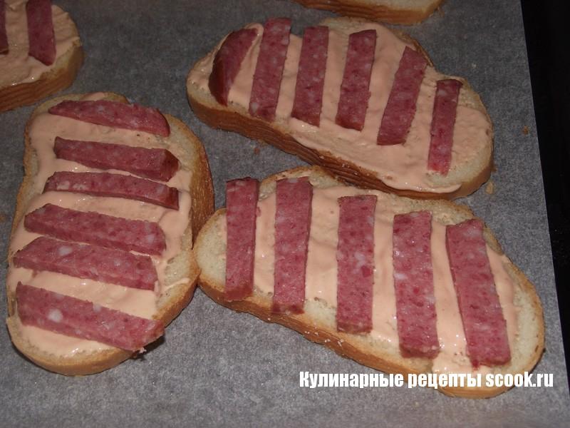 Бутерброды с колбасой - рецепты с фото на Повар. ру (53 рецепта.)