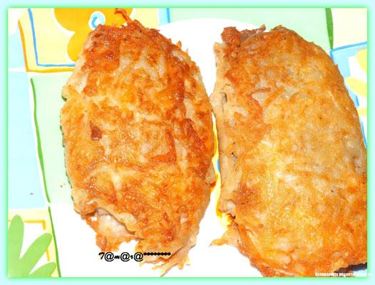 Тилапия в сырно-картофельной корочке