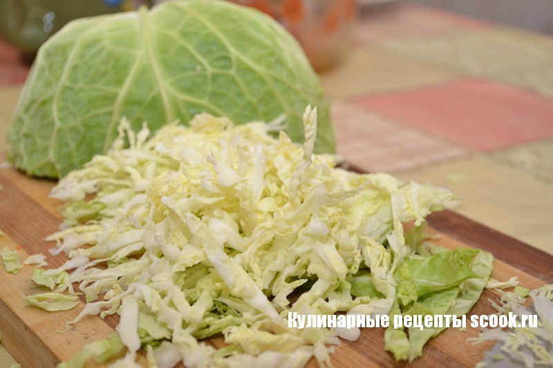 помидор капуста салат