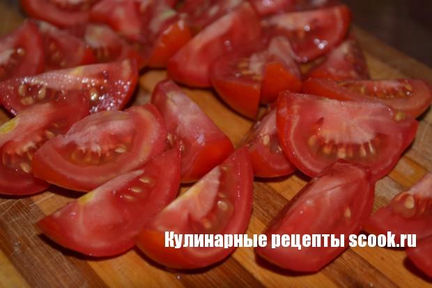 """Салат на зиму """"Помидоры, как свежие"""""""