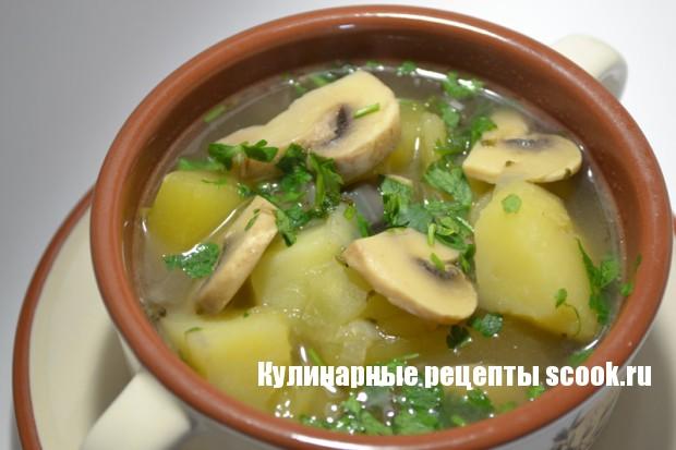 Соус из картошки с грибами