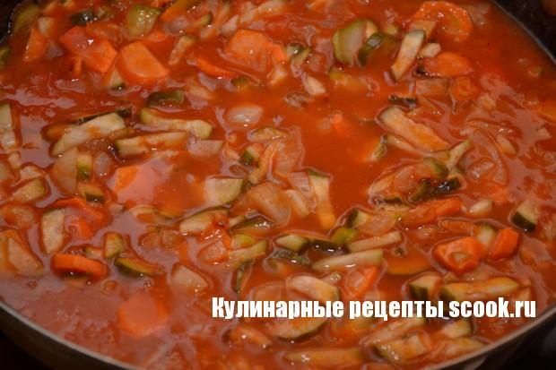 простая солянка рецепт с фото с колбасой