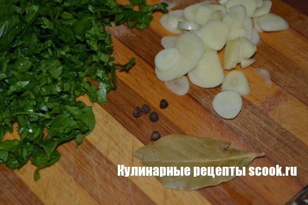 Салат из кабачков со сладким перцем