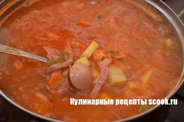 Салат из королевских креветок и ананасов рецепт