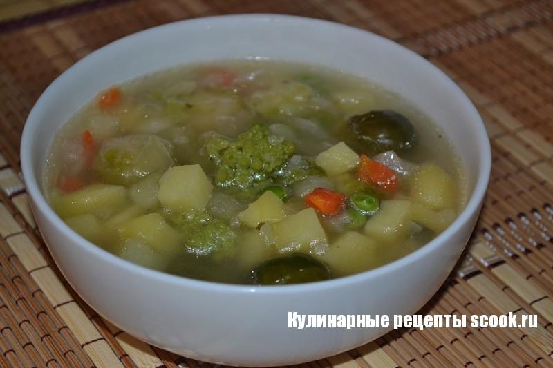 Блюда из овощной смесиы