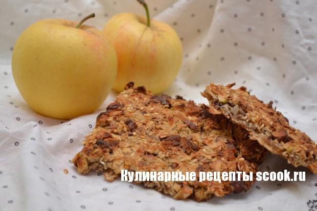 Яблочные мюсли-батончики