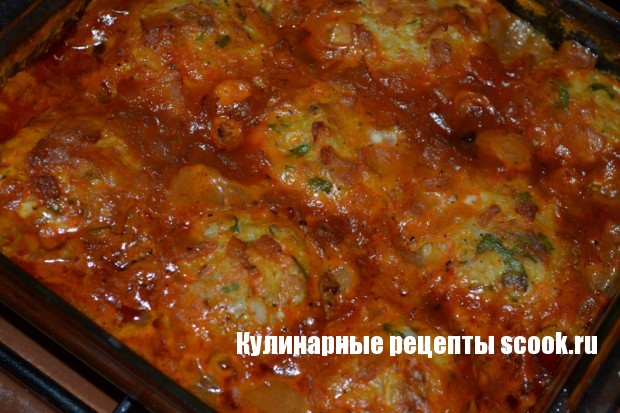 Тефтели рыбные в томатном соусе