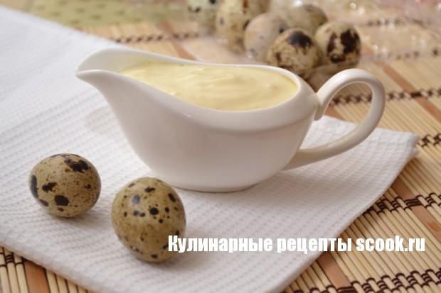 Майонез из перепелиных яиц