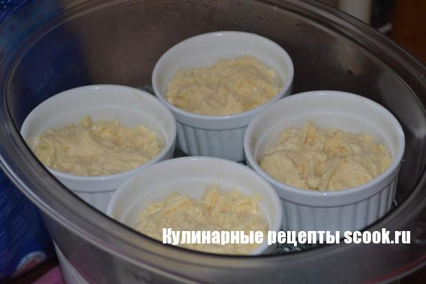 Творожные кексы в пароварке