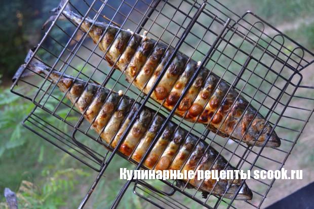 Как приготовить скумбрию на гриле на мангале рецепт