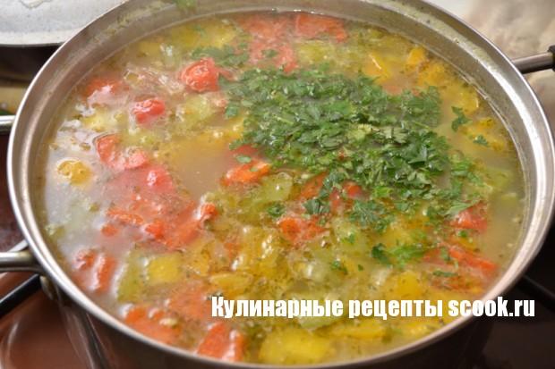 """Суп """"Светофор"""""""