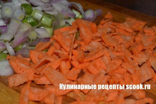 Кабачки с фасолью