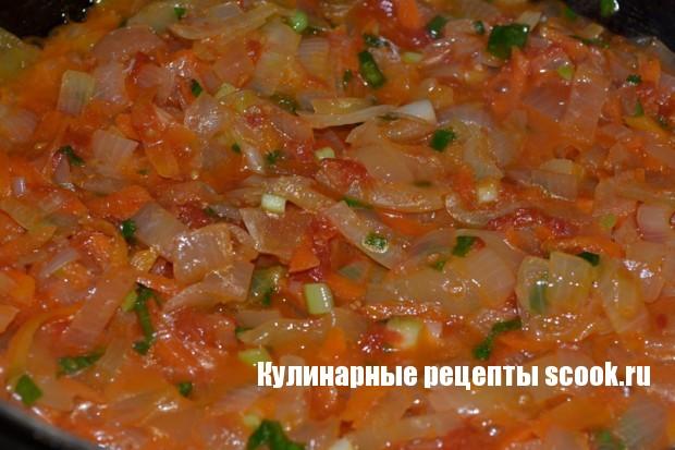 Вегетарианский борщ
