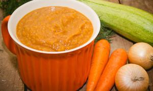 Икра кабачковая из печеных овощей