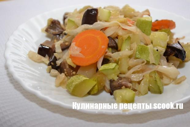 Овощное рагу в духовке
