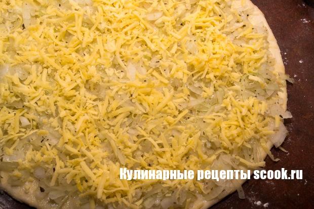 Луковые булочки с сыром и орегано