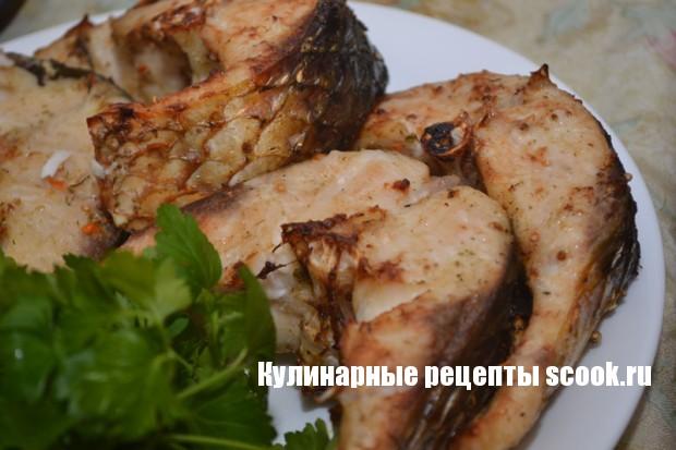 Пеленгас в духовке