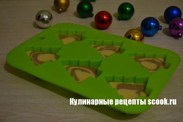 """Кексы """"Праздничные ёлочки"""""""