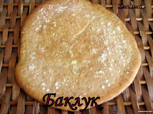 """Традиционная лезгинская, кукурузная лепешка """"Баклук"""""""