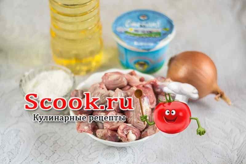 Куриные желудки рецепты