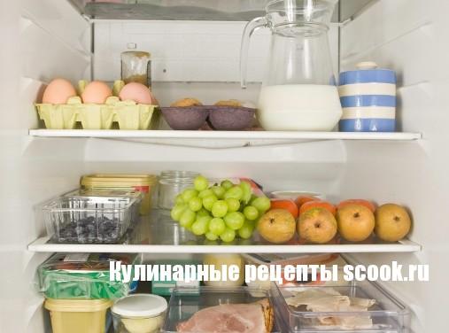 Продукты, которые должны быть в холодильнике
