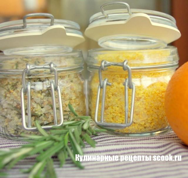 Как приготовить ароматную соль