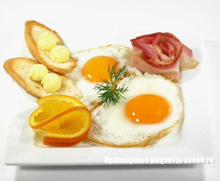 Как приготовить яичницу и омлет