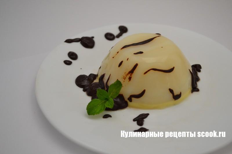 Панна котта - итальянский десерт
