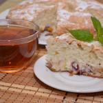 Яблочная шарлотка с тыквой