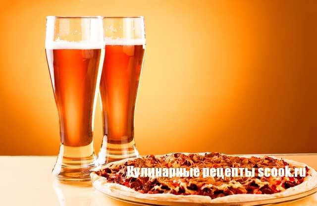 Пиво из пиццы